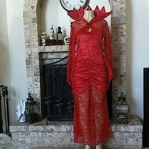 Seasons Queen of Flames Adult Costume